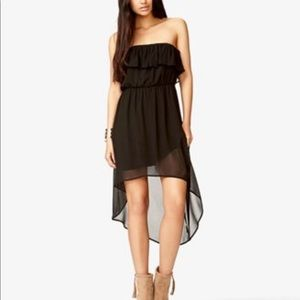 Forever 21 High-Low strapless ruffle dress